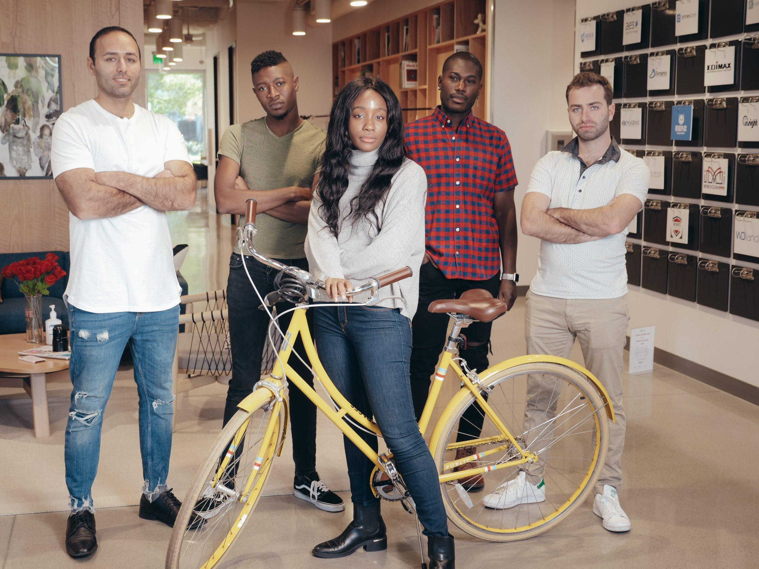 Group shot of your entrepreneurs