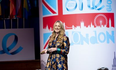 Future Generations Commissioner for Wales, Sophie Howe, attended the One Young World in 2019.
