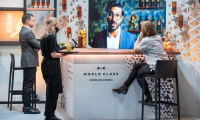 Bar at beverage event World Class Bartender
