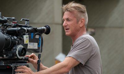 Director Sean Penn behind the camera