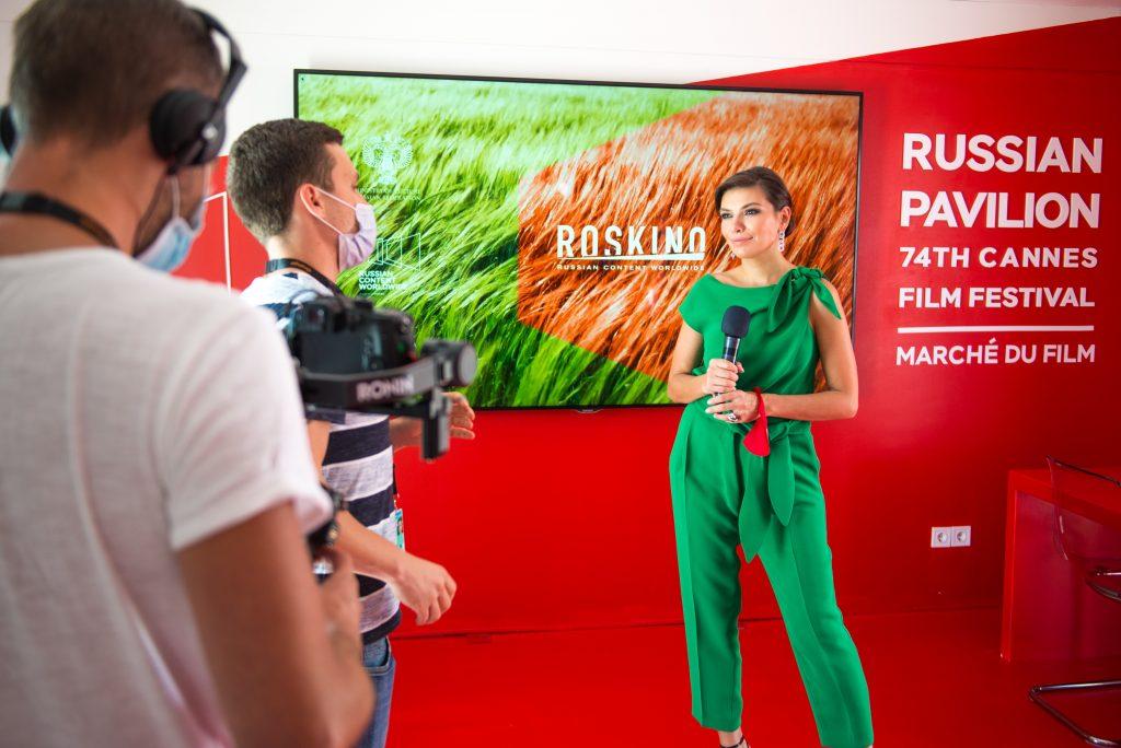 Evgenia Markova, the CEO of Roskino
