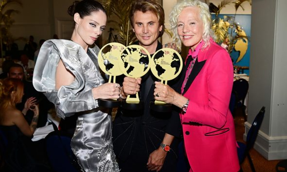 Coco Rocha, Foodgod and Ellen von Unwerth attend the World Influencers and Bloggers Awards 2021   Photo: Daniele Venturelli/Getty Images